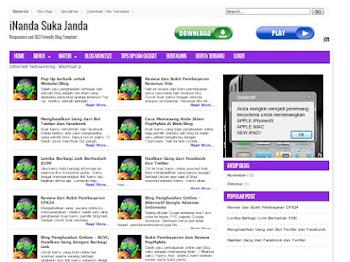 Blogger Template - iNanda Suka Janda