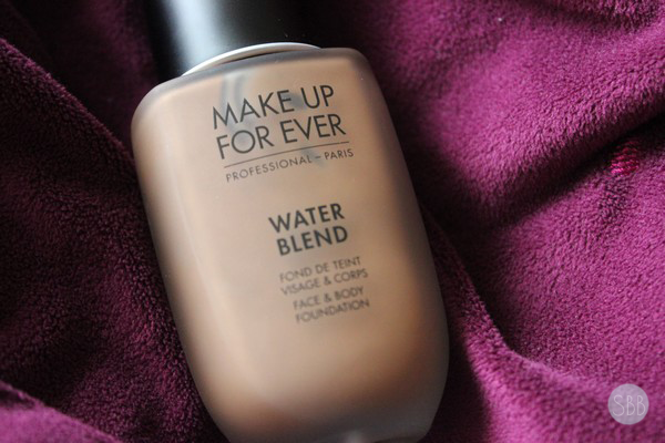 MUFE new water blend face and body foundation
