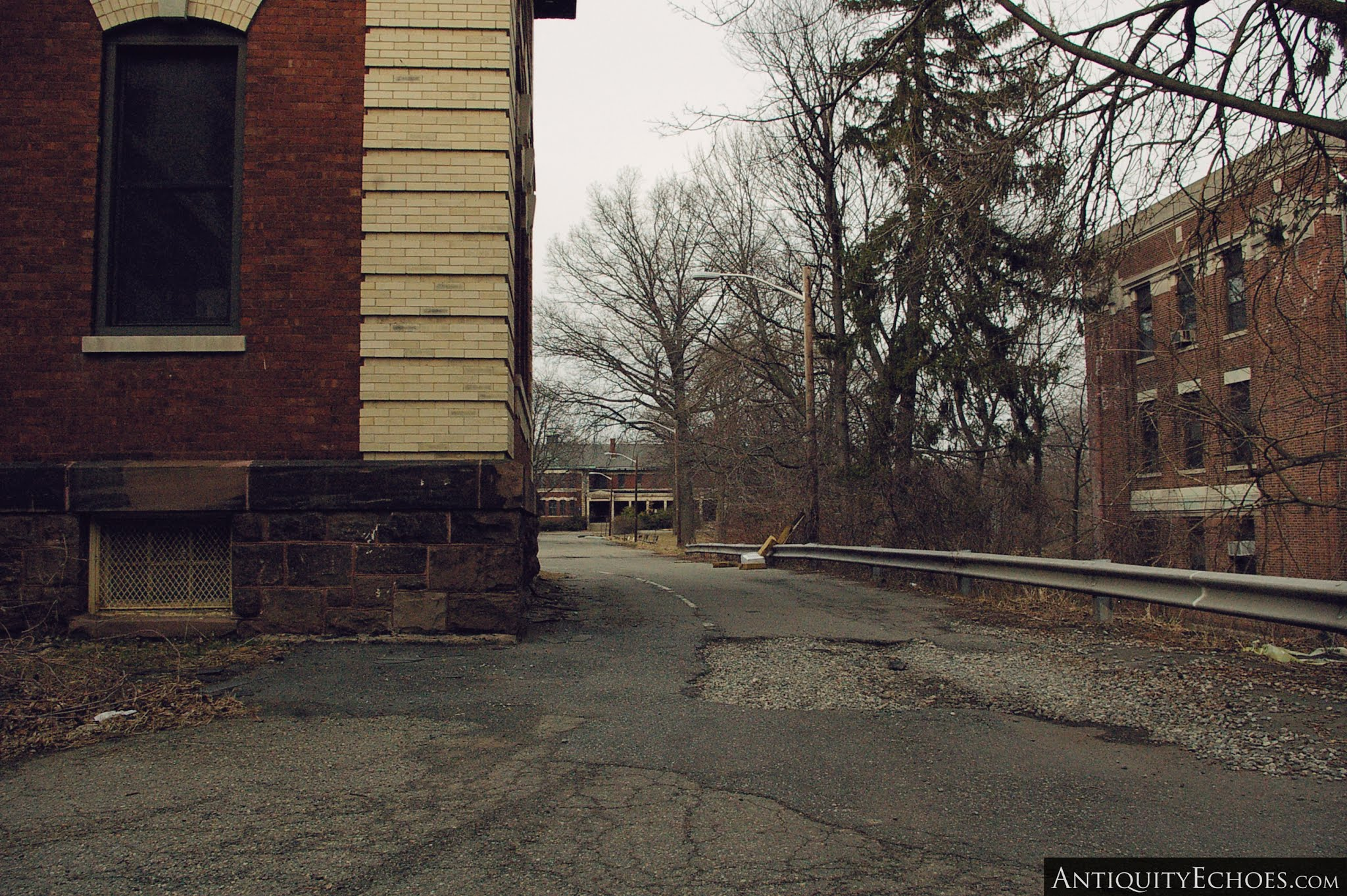 Overbrook Asylum - Campus in Early Spring