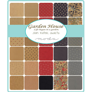 Moda Garden House Fabric by Jan Patek for Moda Fabrics