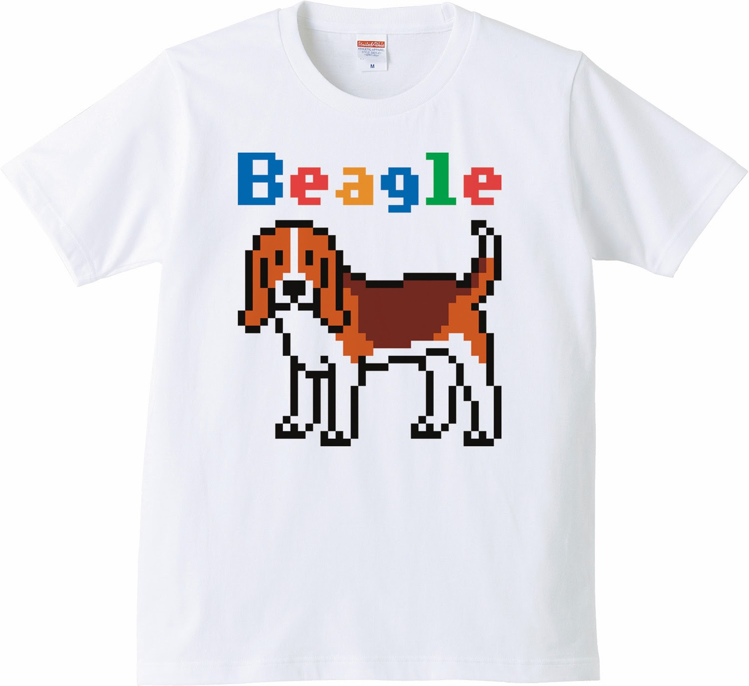 Pixel Party Boy「Beagle犬索」[Standard T-Shirt] 5.0oz | T-SHIRT COUNCIL