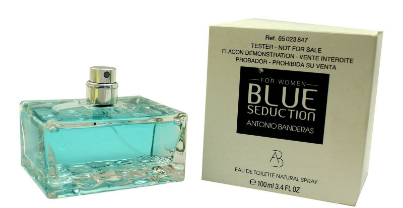 040cb5637 Blue Seduction for women (tester)