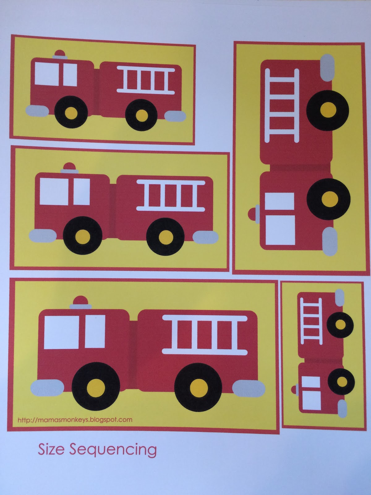 News With Naylors Letter F Fire Truck Shape Craft