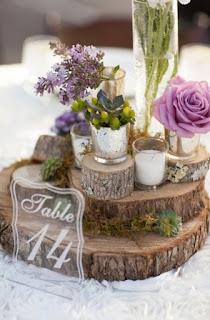 centro tavola matrimonio fai da te rustico