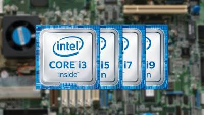 Core i3,i5,i6,i7,i9