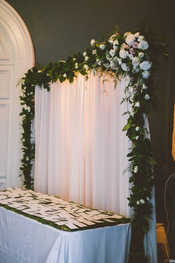 guirnaldas para decoracin de pasillo de ceremonia