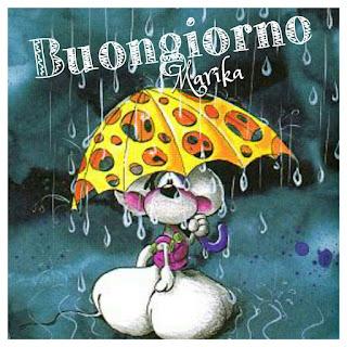 buongiorno piove