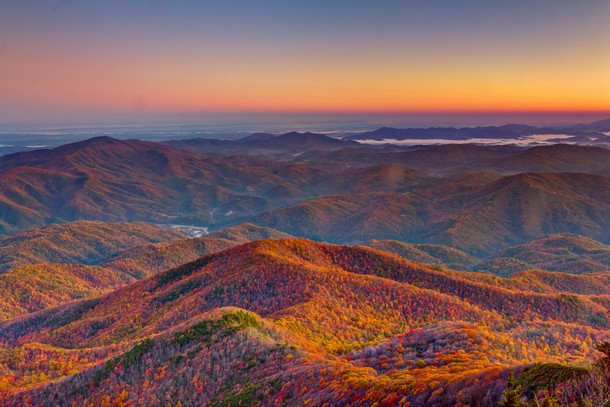 Tennessee Mt. Cammerer, Great Smoky Mountains National Park