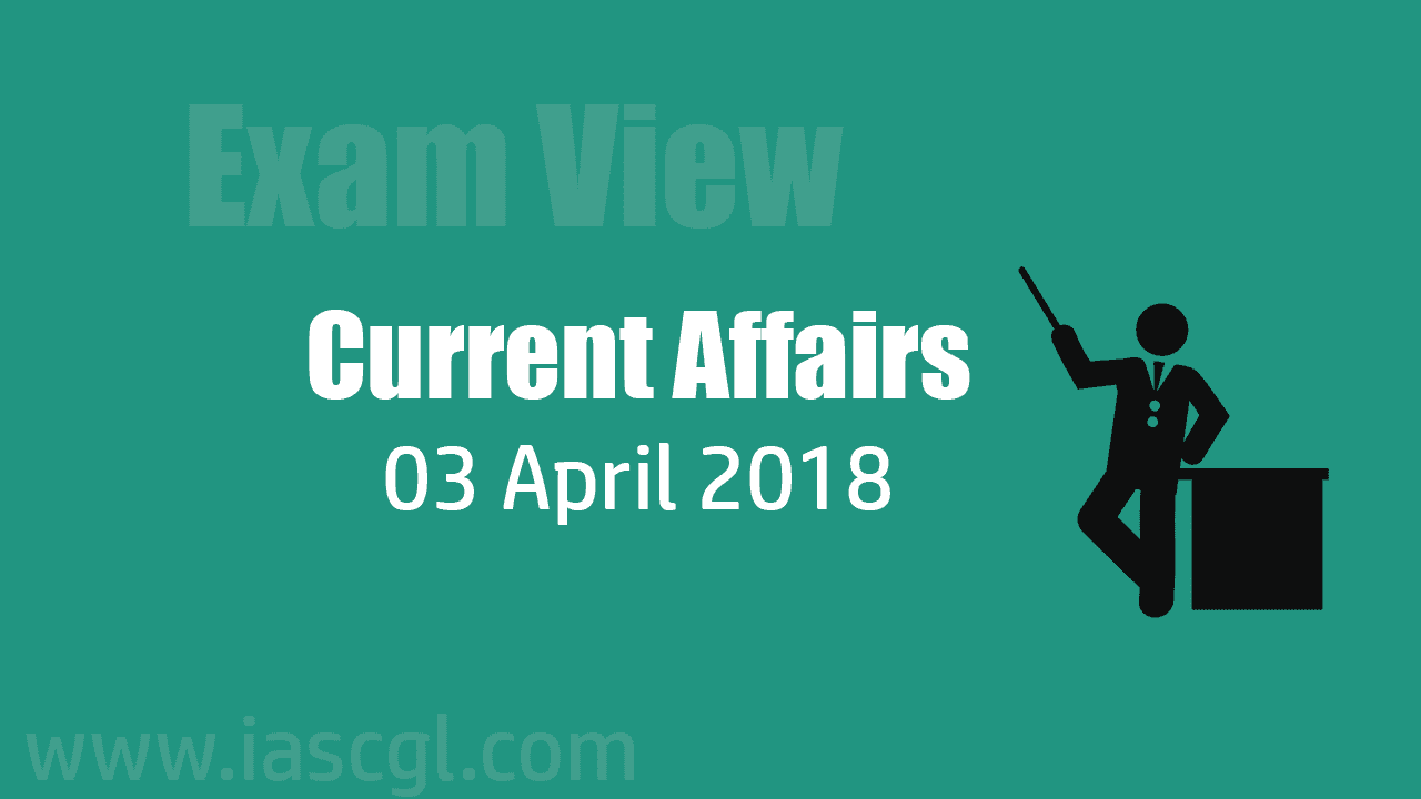 Current Affair 03 April 2018