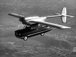 ConvAirCar consep mobil terbang pertama yang mampu terbang ke udara