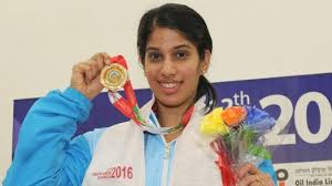 Joshna Chinappa wins gold medal in women's individual squash at SAG