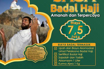 Jasa Paket Badal Haji 2019 Murah Resmi bersertifikat