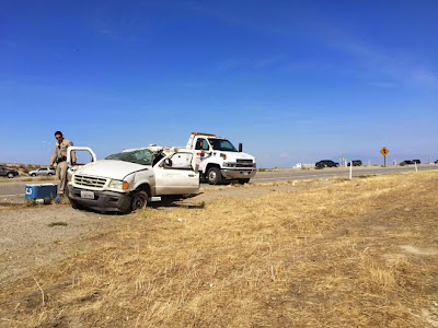 kern county interstate 5 pickup truck accident taft highway ford ranger