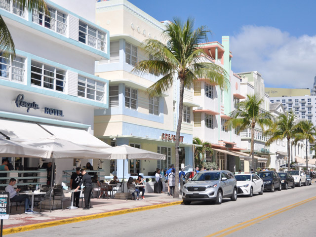 South Beach, Ocean Drive, Miami
