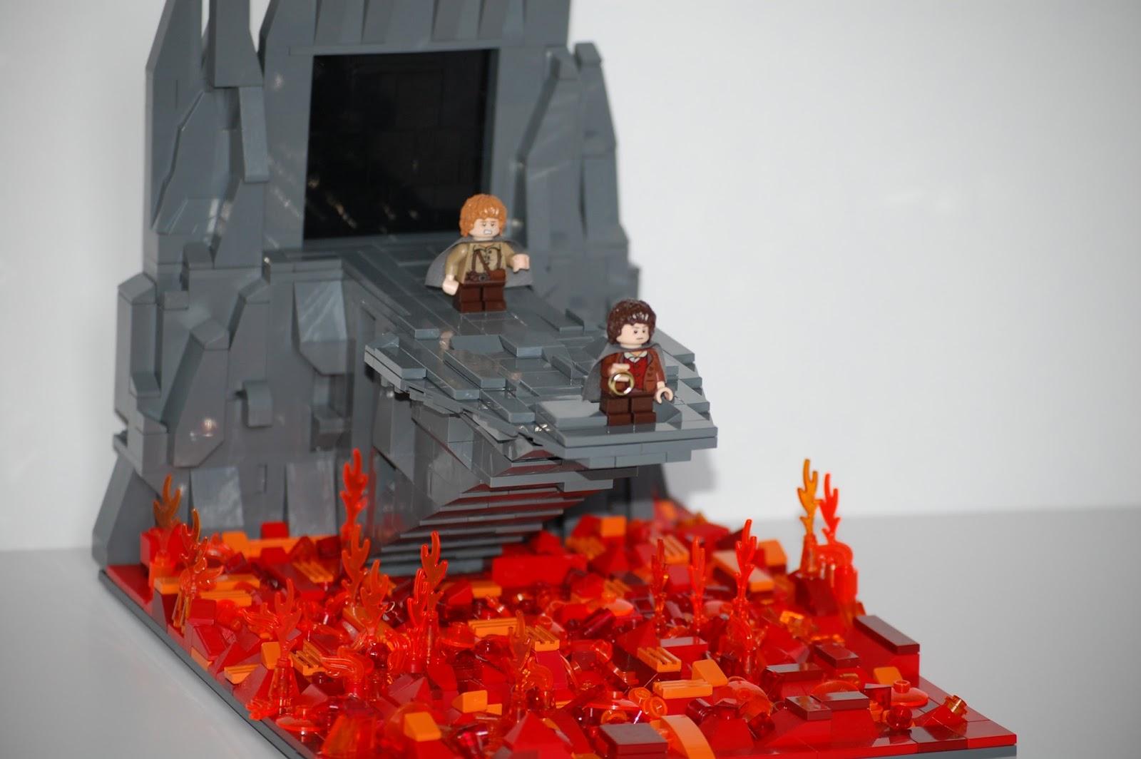 Mount Doom  Leonardo Da Brick