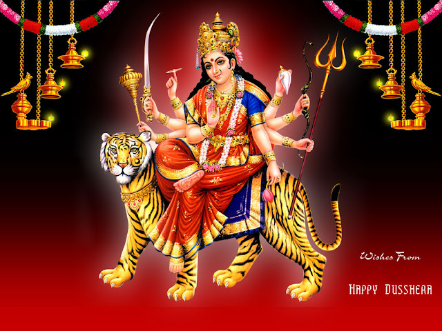 Goddess Maa Durga Wallpaper