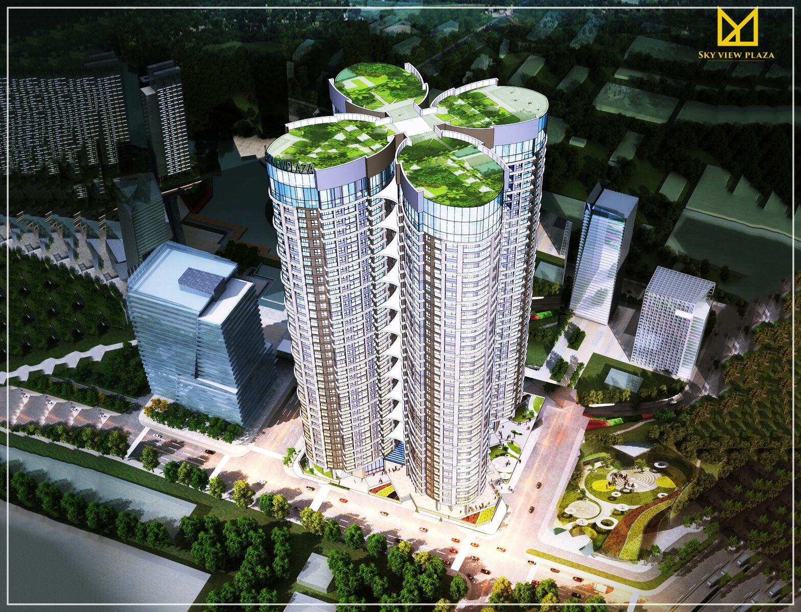 Sky View Plaza chuẩn mực sống quốc tế ngay giữa lòng Hà Nội