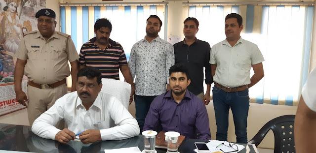 Most Wanted Satpal Mujahedi attempting to kill Faridabad police