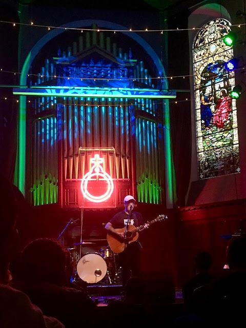 Deaf Havana release show for 'Rituals', in St Luke's Church, Glasgow