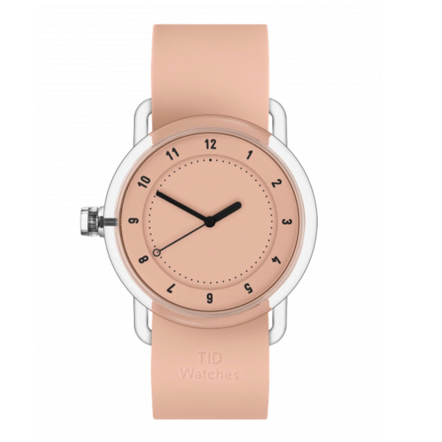 The peach No.3 timepiece from TID.