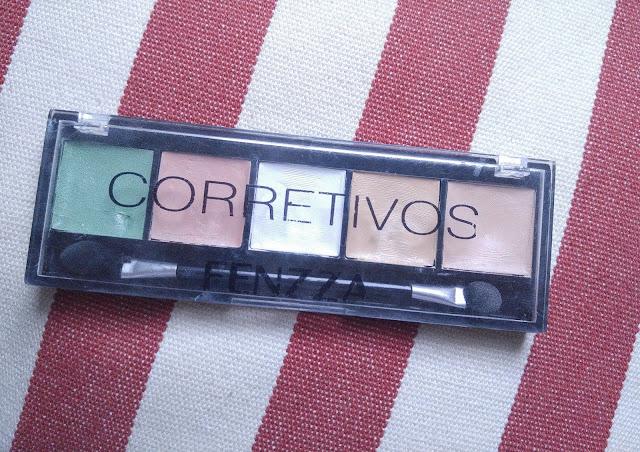 Paleta corretivo Fenzza makeup