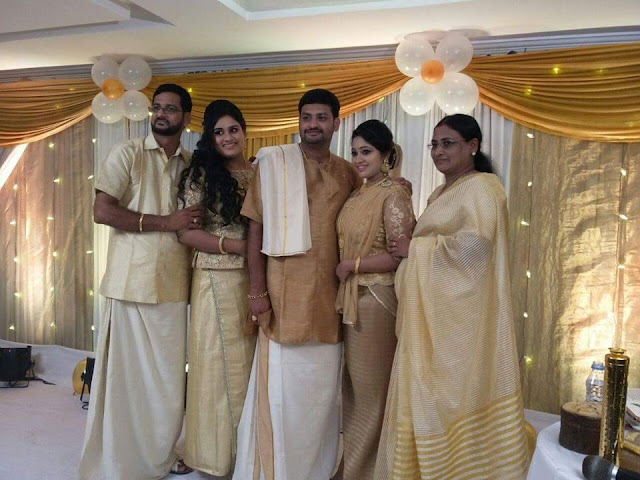 Actress Meghna Vincent -Don Tony Engagement Photos