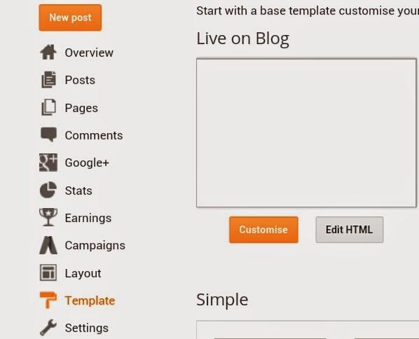 edit html blog