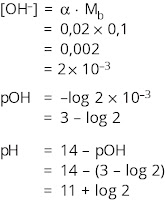 contoh menghitung pH basa lemah