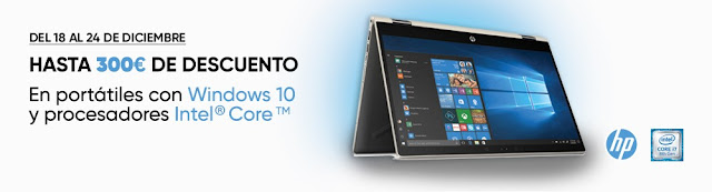 Mejores ofertas Hasta 300 euros de descuento en portátiles con Windows 10 y procesadores Intel Core de Fnac