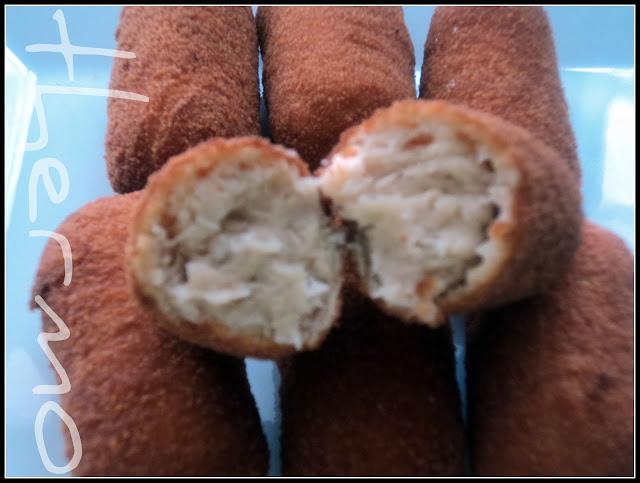 Croquetas caseras de pollo de la tita Luisa, Olor a hierbabuena