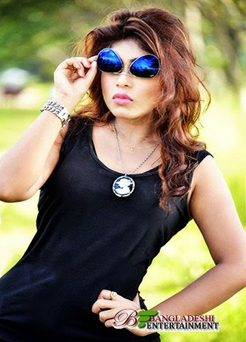 Bangladeshi film actress Misty Jannat