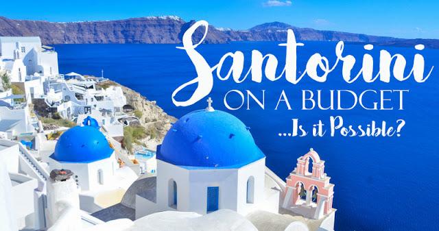 Santorini budget travel guide