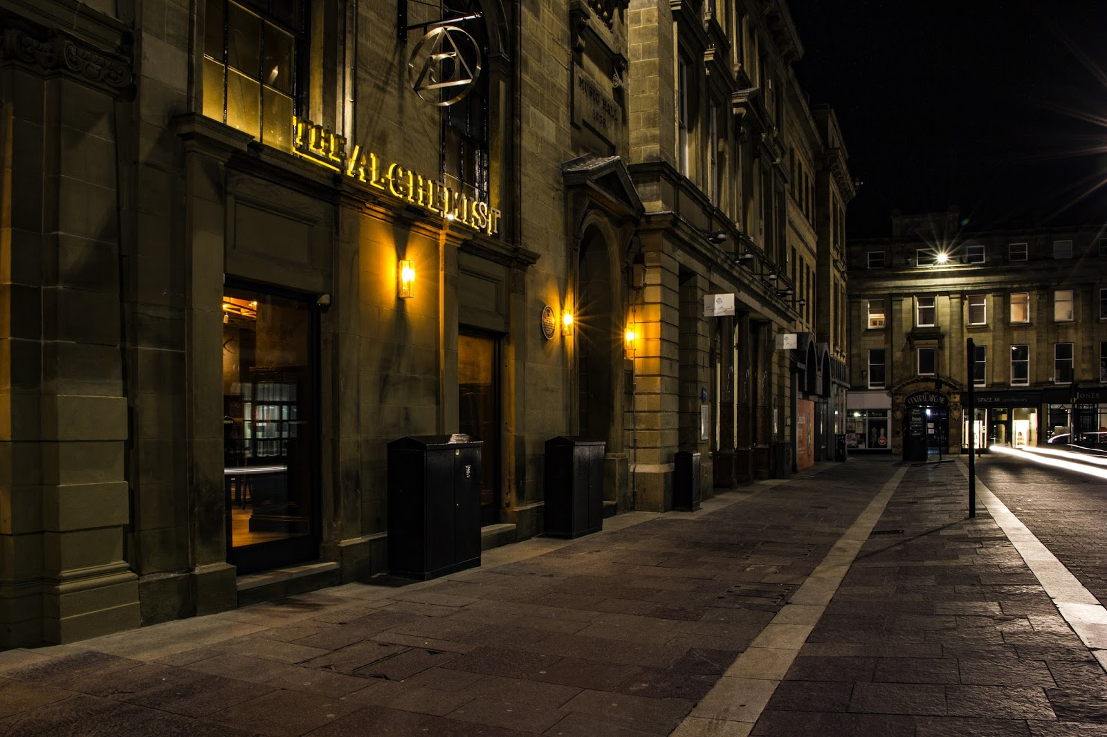 The Alchemist | Newcastle Upon Tyne | Location and address