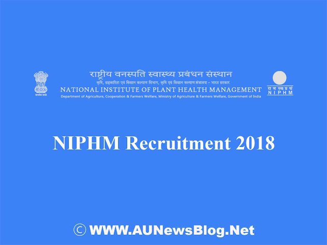 NIPHM Recruitment 2018 - Vacancy in Director post