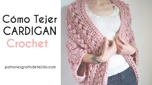 Cómo Tejer Cárdigan Crochet Paso a Paso | Tutorial