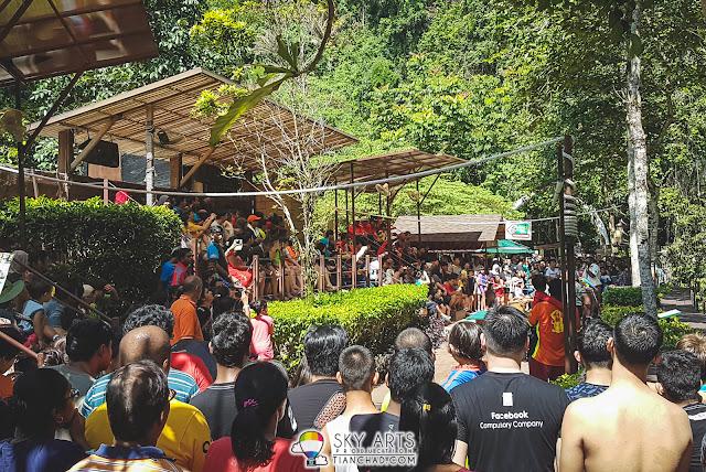 Animal performance at Tiger Valley - Lost World of Tambun