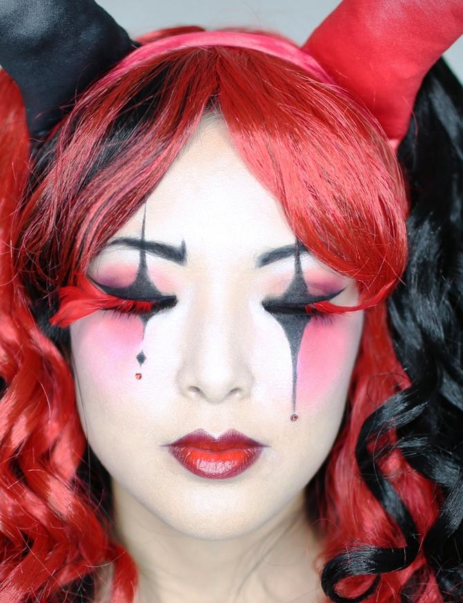 harley quinn makeup - 670×872