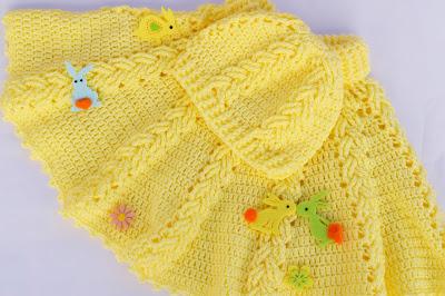 2-Majovel Crochet Gantillo Imagen Hermoso gorro a crochet juego con la capita amarilla