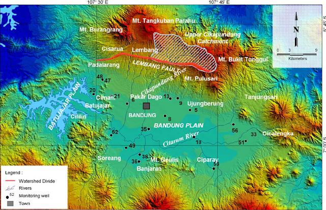 Geologi Patahan Lembang Bandung
