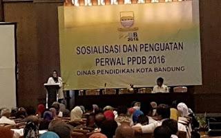 Sosialisasi Penerimaan Siswa Baru (PPDB) 2016