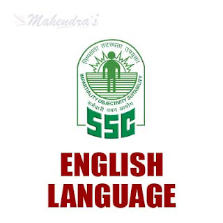 SSC Quiz : English Language | 25 - 11 - 17