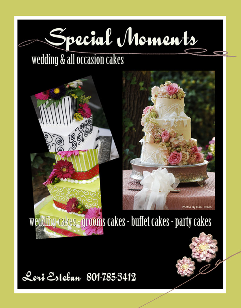 Special Moments<br> Wedding & All-Occasion Cakes