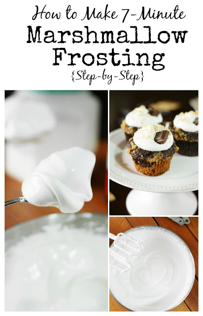 How to Make 7-Minute Marshmallow Frosting {Step-by-Step}   www.thekitchenismyplayground.com