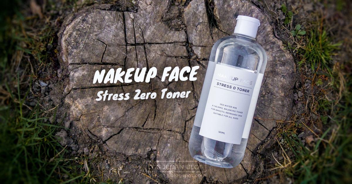 Nakeup Face Stress Zero toner review, Nakeup Face Stress 0 toner, tonik za lice, tonik za kožu, korejska kozmetika, recenzija, utisci, blog