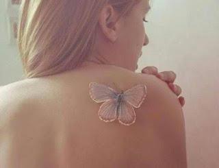 foto 13 de la tinta blanca en los tattoos