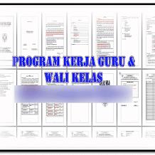 Contoh File Program Kerja Guru/Wali Kelas 2017/2018