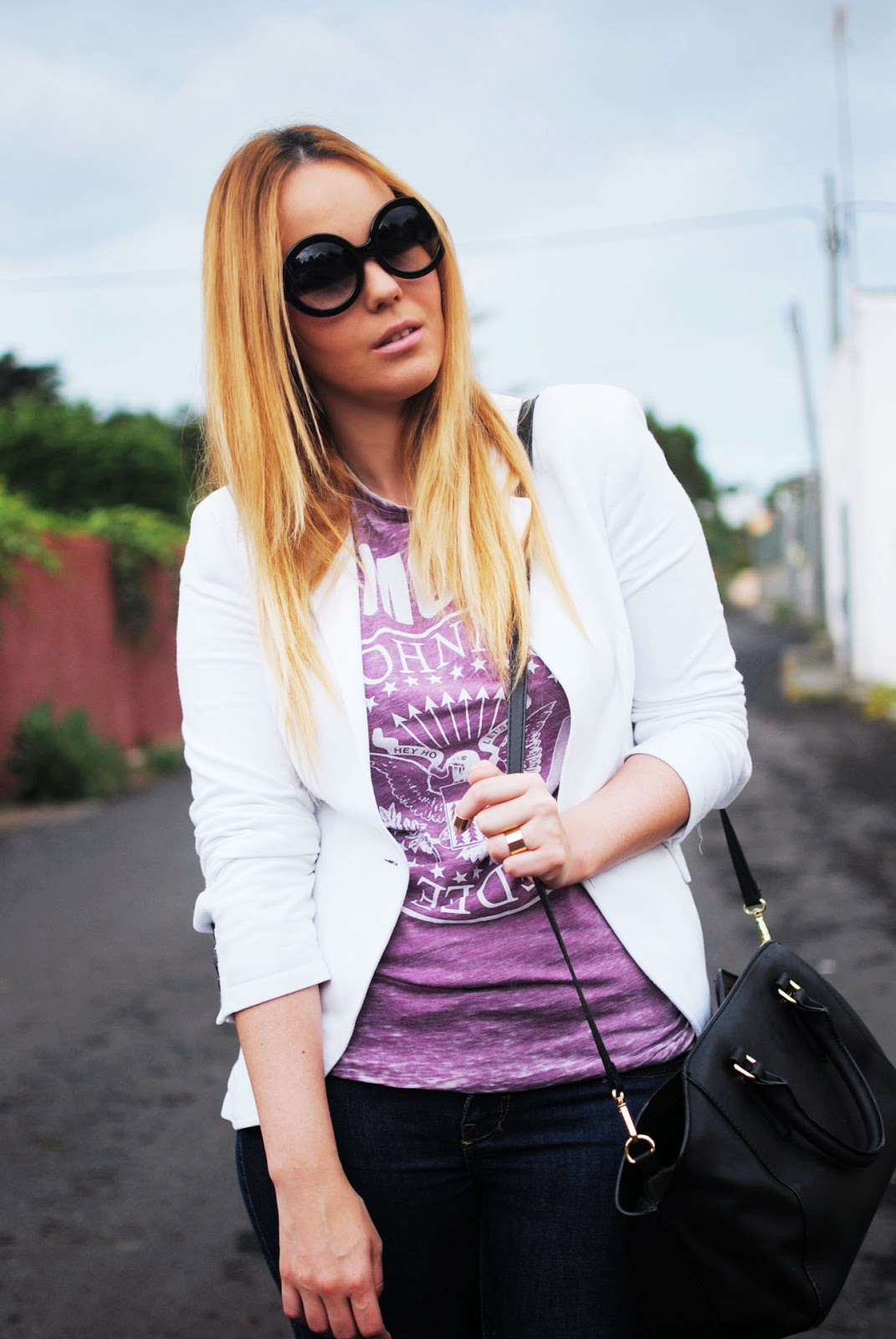 primark , nery hdez, blonde , camiseta ramones, zerouv, dresslily