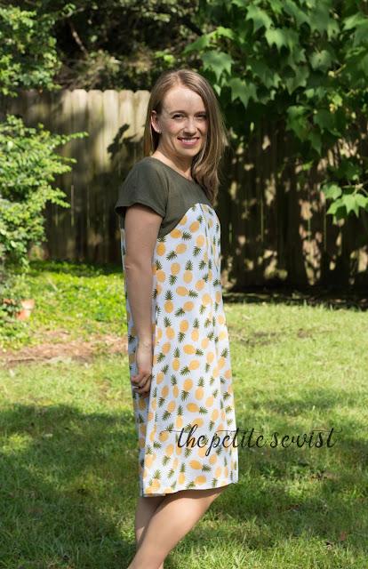 dolman dress sewing pattern