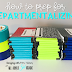 How to Prep for Departmentalizing