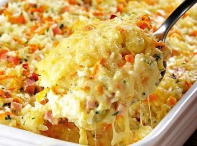Arroz cocido con queso receta facil